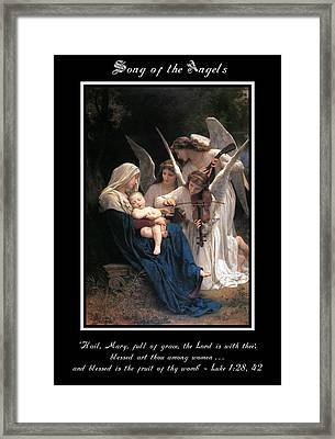 Song Of The Angels Framed Print by Anita Fierro