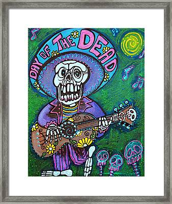 Song Of The Dead Framed Print by Laura Barbosa