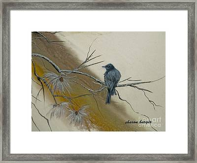 Song Of The North Framed Print by Sharon Burger