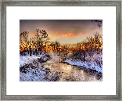 Song Of The Spirits Over The Water Framed Print by William Fields
