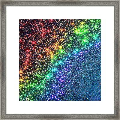 Song Of The Stars Framed Print by Dazzle Zazz