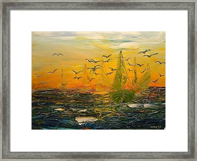 Song Of The Wind Framed Print by Svetla Dimitrova