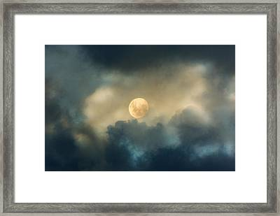 Song To The Moon Framed Print