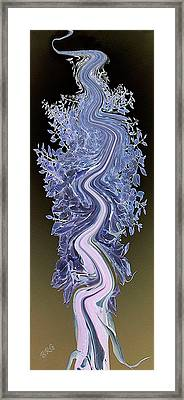 Song - Yucca Flower Framed Print by Ben and Raisa Gertsberg