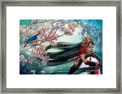 Songbird Framed Print by Aimee Stewart