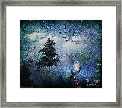 Songbird Framed Print by Lianne Schneider