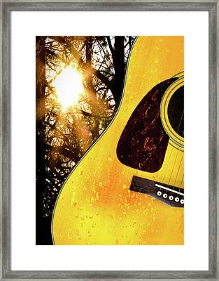 Songs From The Wood Framed Print by Bob Orsillo
