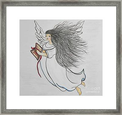 Songs Of Angels Framed Print by Eloise Schneider