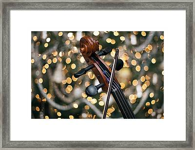 Songs Of Joy Framed Print by Edward Kreis