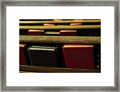 Songs Of Praise Framed Print