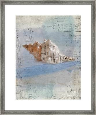 Songs Of The Sea Framed Print by Betty LaRue