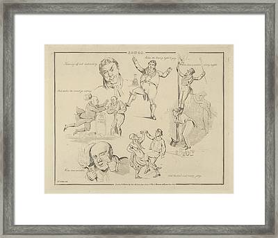Songs Throwing Off Dull Melancholy Framed Print