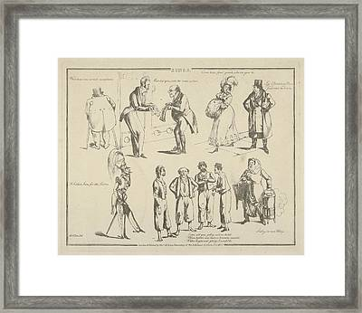 Songs What Beau Was Armd Completer Framed Print