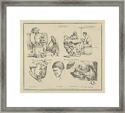 Songs With ____ Mixture Framed Print