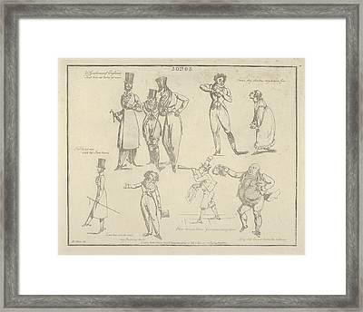Songs Ye Gentlemen Of England That Live Framed Print