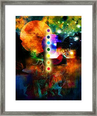 Sonic Ascension Framed Print by Bruce Manaka