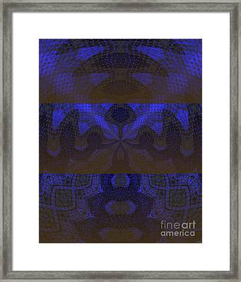 Framed Print featuring the painting Sonic Temple by Roz Abellera Art