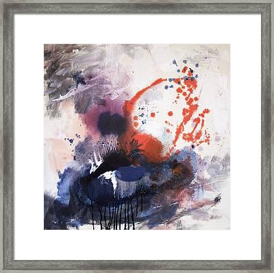 Sonidos Framed Print by Sebastian Arango