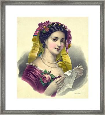 Sonnet 1850 Framed Print by Padre Art