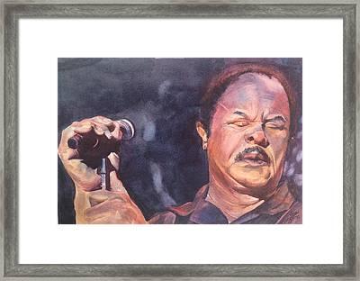 Sonny Charles Framed Print by Kary Lee