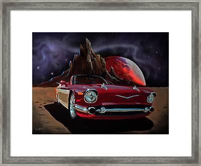 Sonny's Ride Framed Print