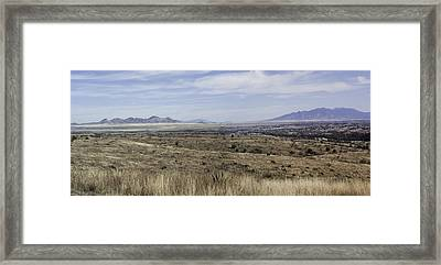 Sonoita Arizona Framed Print