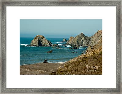 Sonoma Coast  1.7064 Framed Print by Stephen Parker