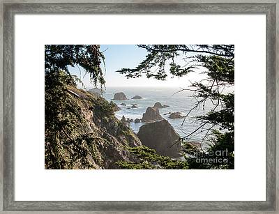 Sonoma Coast 2.2795 Framed Print by Stephen Parker