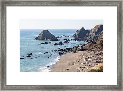 Sonoma Coast State Beach - 386 Framed Print by Stephen Parker