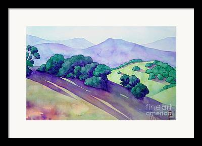 Sonoma Paintings Framed Prints