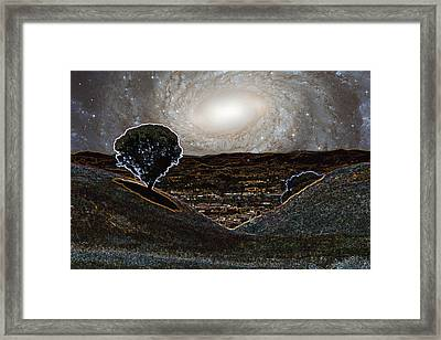 Sonoma Mountain Sativa Framed Print