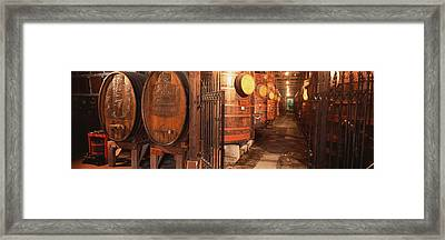 Sonoma Wine Country Sebastinai Wine Framed Print