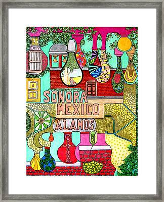 Sonora Lights 01 Framed Print