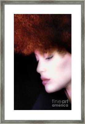 Sonya's Thoughts Framed Print by Jeff Breiman
