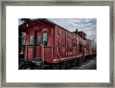 Soo Caboos Framed Print by Mike Burgquist