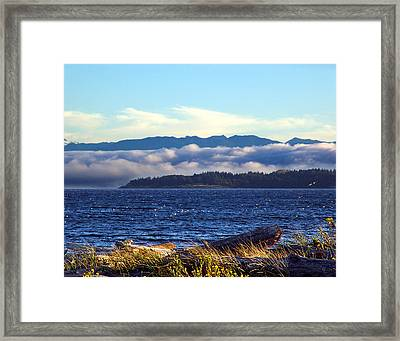 Soon Winter Comes Framed Print