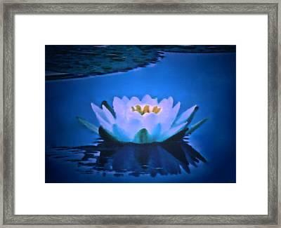 Sooth Serenity  Framed Print by Debra     Vatalaro