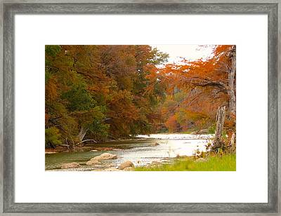 Framed Print featuring the photograph Soothing Color by David  Norman