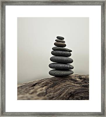 Soothing Framed Print by Kjirsten Collier