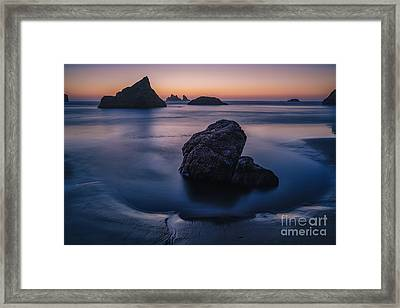 Soothing Light Framed Print