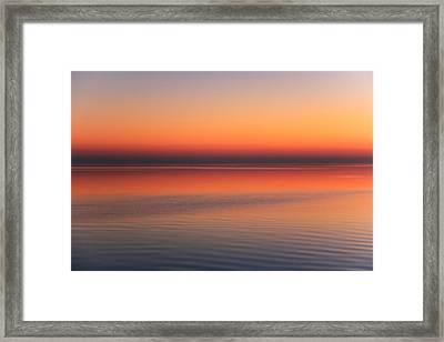 Soothing Framed Print by Rachel Cohen