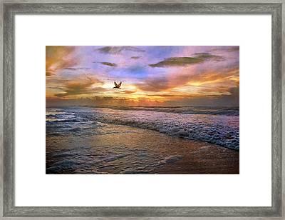 Soothing Sunrise Framed Print