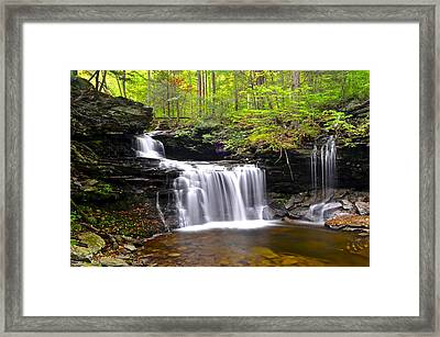 Soothing Tranquility Framed Print by Frozen in Time Fine Art Photography