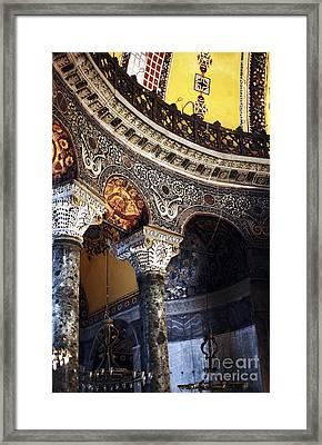 Sophia Balcony Framed Print