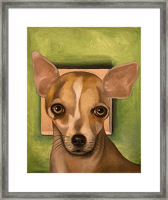 Sophia Framed Print by Leah Saulnier The Painting Maniac