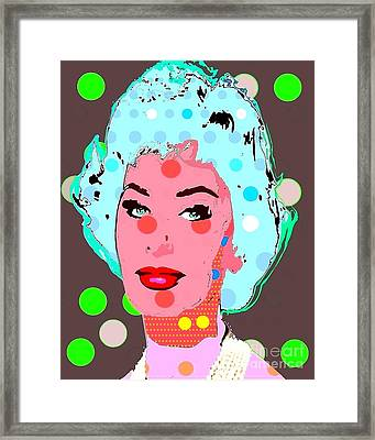 Sophia Loren Framed Print by Ricky Sencion