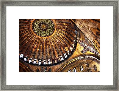 Sophia Wonders Framed Print by John Rizzuto