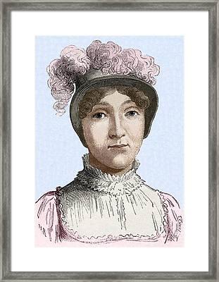Sophie Blanchard. Framed Print