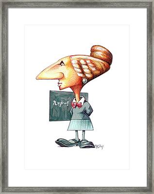 Sophie Germain Framed Print by Gary Brown