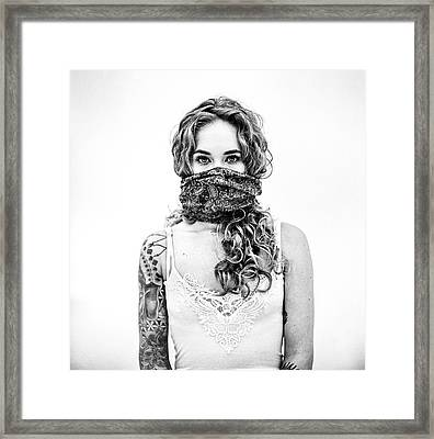 Sophie Jane - Session 2 - Vi Framed Print